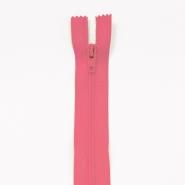 Reißverschluss, spiralig, 20 cm, 4mm, 18303-538, rosa