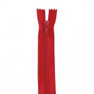 Zadrga, spiralna, 20cm, 4mm, 18303-548, rdeča