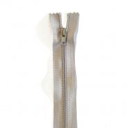 Zadrga, spiralna, 20cm, 4mm, 18303-717, siva