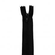 Zadrga, spiralna, 20cm, 4mm, 18303-732,  črna