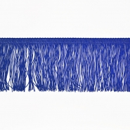 Fransen, 10cm, 18306-44, blau