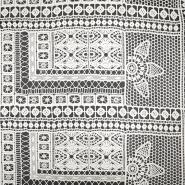 Spitze, geometrisch, 18947-72, sahne