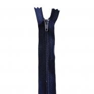 Reißverschluss, spiralig, 60cm, 4mm, 18981-626, blau