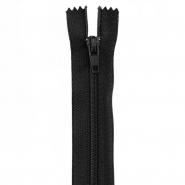 Reißverschluss, spiralig, 60cm, 4mm, 18981-732, schwarz