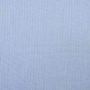 Bombaž, poplin, elastan, 18994-5, modra