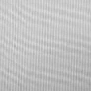 Bombaž, poplin, elastan, 18994-6, bela