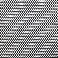 Netzstoff, doppelt, 19001-3, schwarz