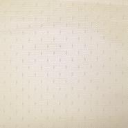 Mreža, elastična, poliamid, pike, 19002-53, bež