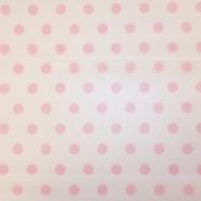Netz, elastisch, Polyester, Punkte, 19003-6, sahne