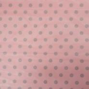 Netz, elastisch, Polyester, Punkte, 19003-8, rosa