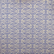 Pletivo, čipka, 18992-2, plavo-bijela