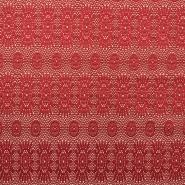 Pletivo, čipka, 18992-4, bež rdeča