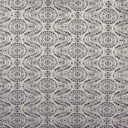 Pletivo, čipka, 18992-6, crno-bijela