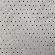 Mreža elastična, poliester, pike, 19007-999, črna