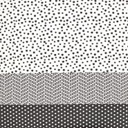 Wirkware, Jersey, Punkte, 19008-999, schwarz-weiß