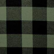 Wirkware, dicker, Karo, 19009-215, grün
