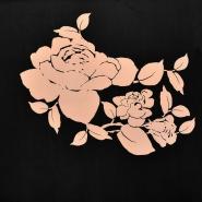 Jersey, poliester, cvetlični, 18992-32