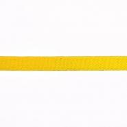 Traka, pamuk, keper, 15 mm, 15835-6030, žuta