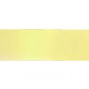 Traka, saten, 40 mm, 15461-1009, žuta