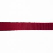 Traka, rips, 15 mm, 15457-1231, tamnocrvena
