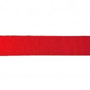 Traka, rips, 40 mm, 18431-1230, crvena