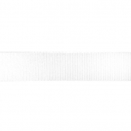 Traka, rips, 40 mm, 18431-1, bijela