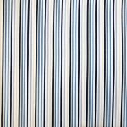 Jersey, bombaž, črte, 19051-131, modra