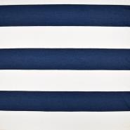 Jersey, bombaž, črte, 19056-108