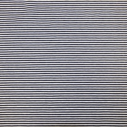 Jersey, Baumwolle, Streifen, 16153-108, blau