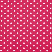 Bombaž, poplin, pike, 16048-517, roza