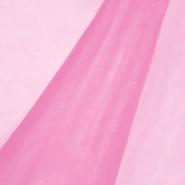 Organza, poliamid, 4851-018, roza