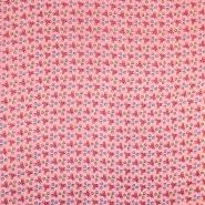 Tetra tkanina, dvostruka, točke, 19080-003, ružičasta