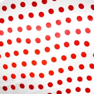 Satin, Polyester, Punkte, 13924-0004
