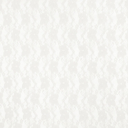 Čipka, elastična, cvjetni, 19138-051, krem