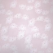 Pamuk, tanak, cvjetni, 19170-012, ružičasta