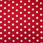 Jersey, viskoza, pike, 11632-015, rdeča