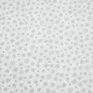 Baumwolle, Popeline, floral, 18280-196, grau