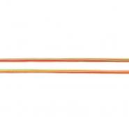 Elastika, okrugla 5 mm, 19218-44410, narančasto-zelena