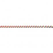 Elastika, okrugla 6 mm, 19219-44415, višebojna