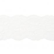 Čipka, elastična, 90 mm, 19220-44439, bijela
