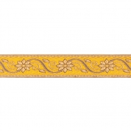 Band, Jacquard, floral, 19222-30543