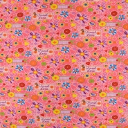 Jersey, bombaž, cvetlični, 19065-004