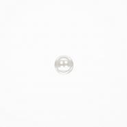 Gumb, srajčni, 19285-001, bela