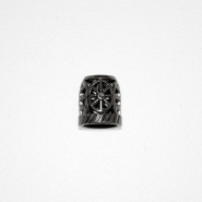 Završetak za nit, metalni, 19288-002, srebrna