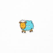 Gumb, les, ovca, 19300-010, plava