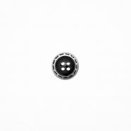 Gumb, srajčni, 19281-001, črna