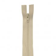 Reißverschluss, spiralig 40cm, 4mm, 18304-707, sandfarben