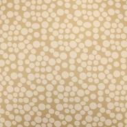 Chiffon, Polyester, Punkte, 19143-052, beige