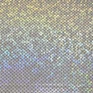 Pletivo, lame, ljuske, 19152-070, srebrna