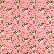 Jersey, Baumwolle, für Kinder, 19165-012, rosa